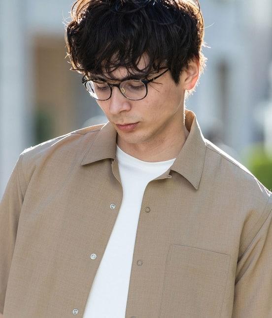 ジュンレッド   【Less:3/レスリー】ドライクロスオープンカラーシャツ - 15
