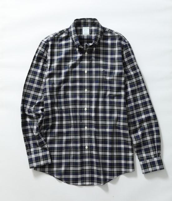 アダム エ ロペ オム | Brooks Brothers SPECIAL ORDER for ADAM ET ROPE'チェック ボタンダウンシャツ Milano Fit - 1
