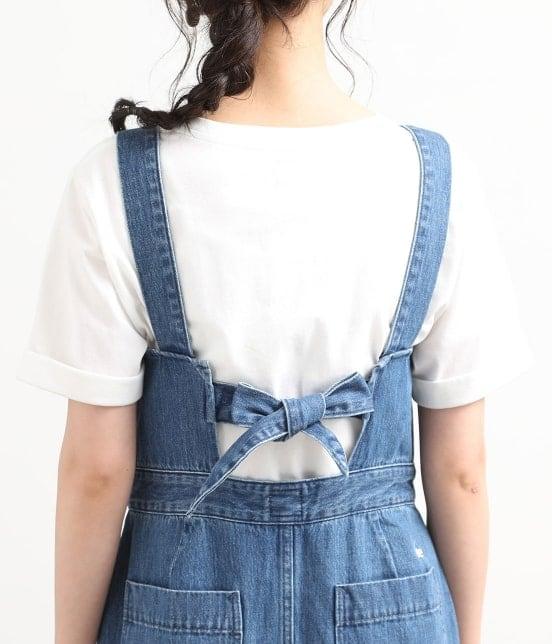 ビス   【早割】【Lee×ViS】デニムサロペットスカート - 3