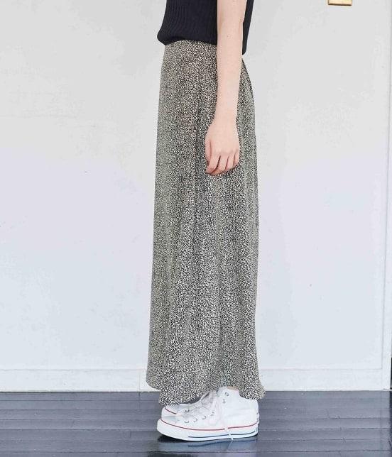 ロペピクニック   【WEB限定】レオパード柄ロングスカート - 1
