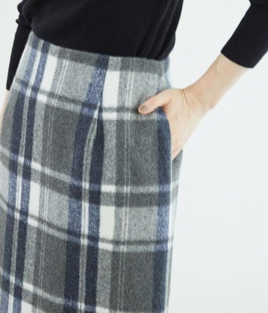 ロペピクニック   【新色追加】【WEB限定:着丈が選べる】ビッグチェックアイラインスカート - 5