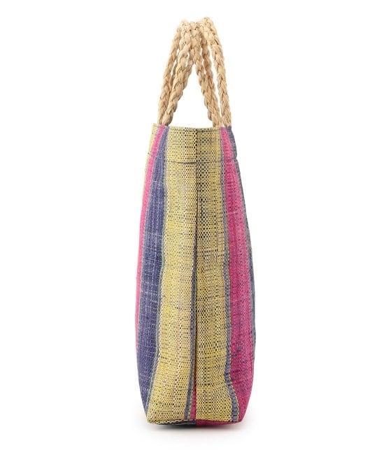 ロペピクニックパサージュ | 【今だけ通常価格から10%OFF】マダガスカルラフィアトートバッグ - 1