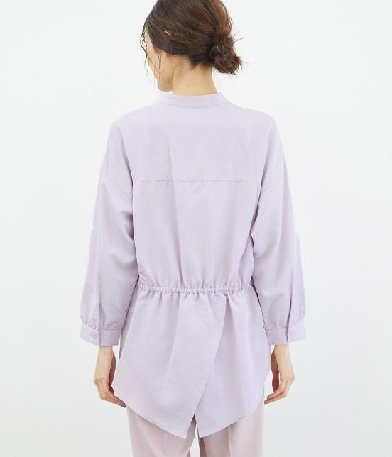 ロペピクニック | 裾スリットチュニックシャツ - 2