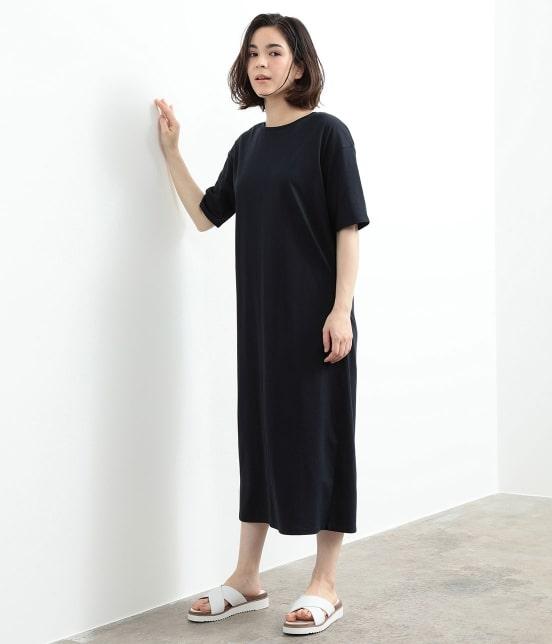 サロン アダム エ ロペ ウィメン | バックスリットロングT-DRESS - 14