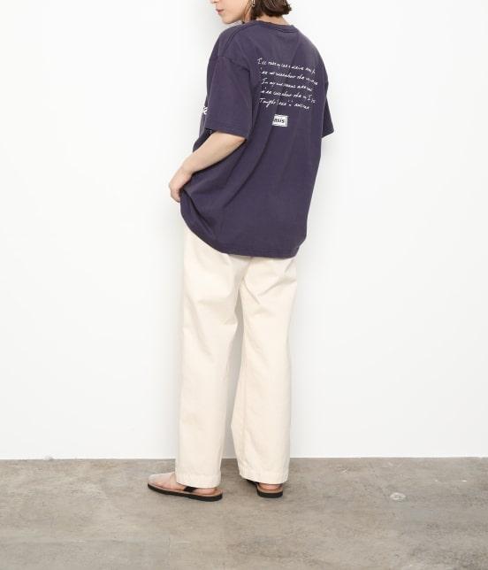 アダム エ ロペ オム   【OASIS×ADAM ET ROPE'】SONG LYRICS T-shirt 19SS - 19