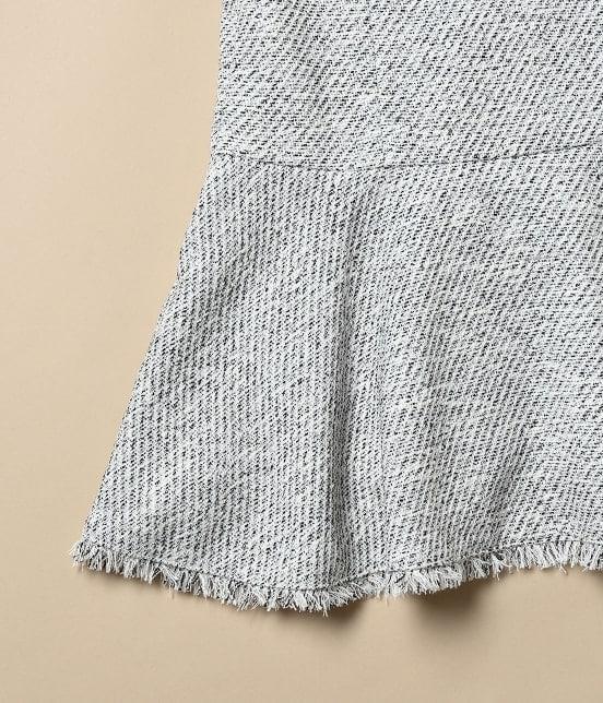 ロペピクニック キッズ | 【ROPE' PICNIC KIDS】ツイードジャケット&ジャンパースカートセット - 13
