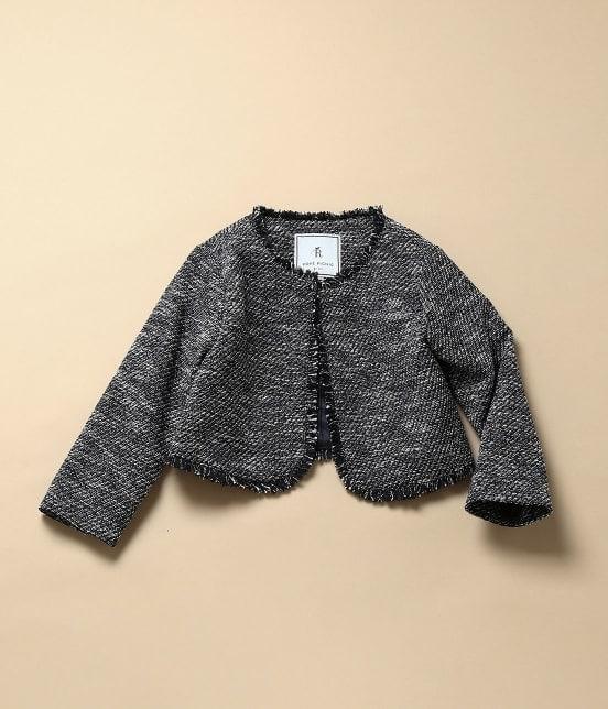 ロペピクニック キッズ | 【ROPE' PICNIC KIDS】ツイードジャケット&ジャンパースカートセット - 1