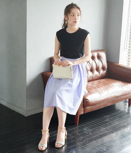 ロペピクニック | 【TIME SALE・今だけ70%OFF!】【着丈が選べる】タックベルトサップギャザースカート - 10