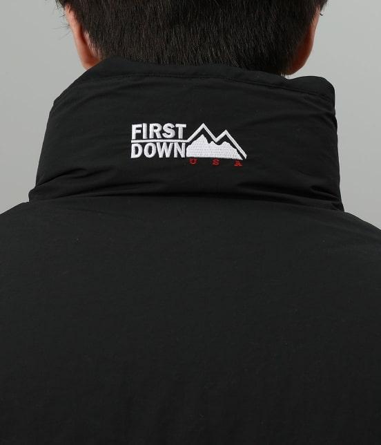 ジュンセレクト   【FIRST DOWN/ファーストダウン】リバーシブルダウンジャケット - 8