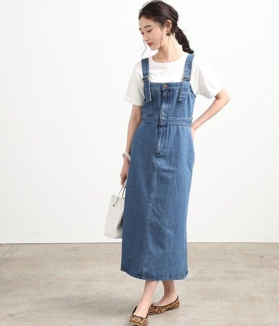 ビス   【早割】【Lee×ViS】デニムサロペットスカート - 9