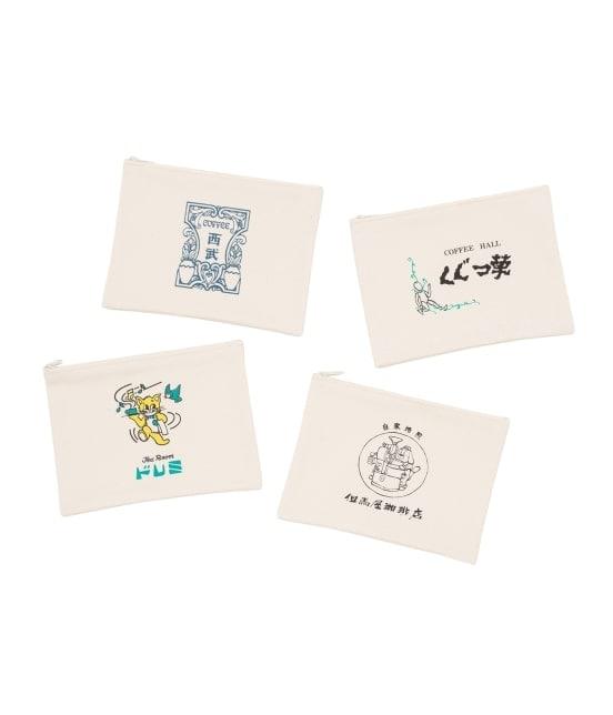 サロン アダム エ ロペ ホーム | 【10%OFF Campaign】【巡る純喫茶】ポーチ(喫茶 ライオン) - 7