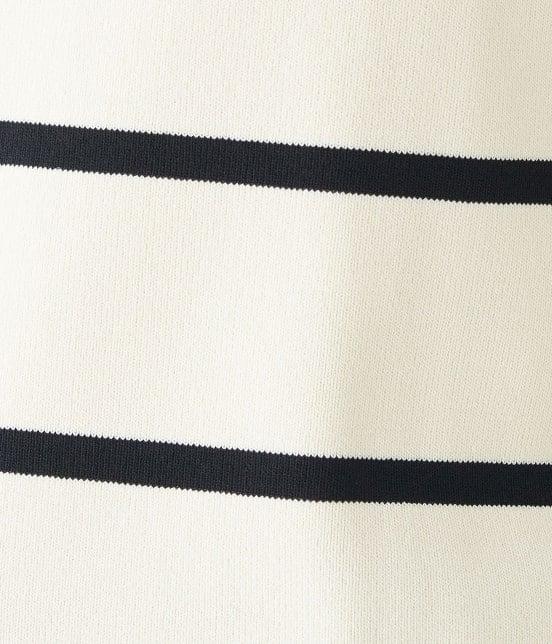 ロペピクニック | 【PRESALE・今だけ60%OFF】【UVケア&マシンウォッシャブル】総針ボートネックプルオーバー - 5