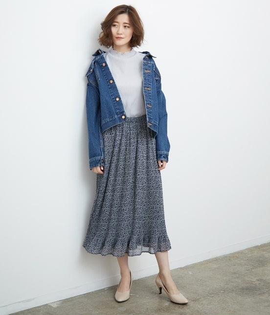 ロペピクニック   【TIME SALE・今だけ50%OFF】小花柄プリーツスカート - 10