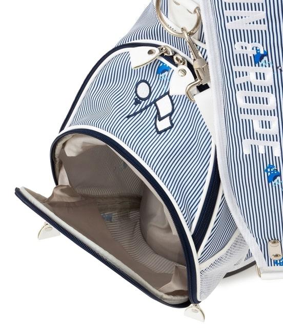 ジュン アンド ロペ | 【予約】【ユニセックス】【軽量】【微弱撥水】フラミンゴ柄プリントスタンドキャディバッグ - 6