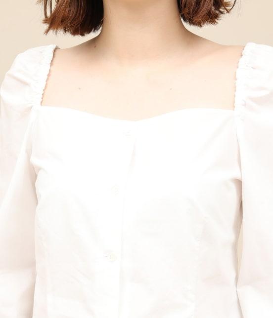 ロペ マドモアゼル | 【ドラマ着用】コットンパフスリーブブラウス - 7