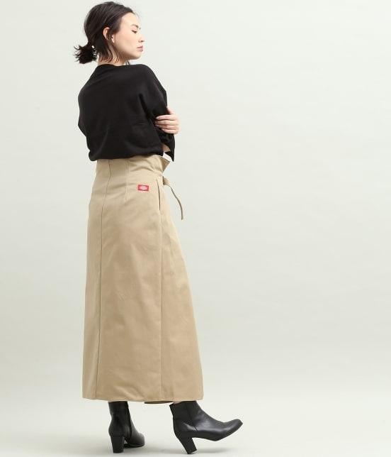 ビス   【Dickies×ViS】フレアロングスカート - 12