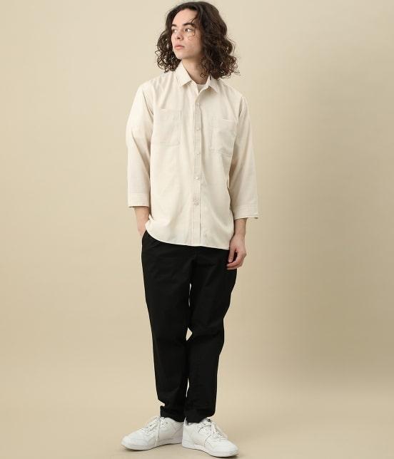 ジュンレッド | カチオン7分レギュラーカラーシャツ - 9