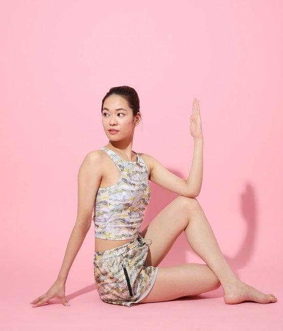 ナージー | 【yoga JOURNAL vol.64掲載】LIBERTY ART FABRICS ブラトップ - 2