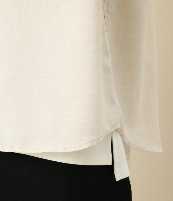 ジュンレッド | カチオン7分レギュラーカラーシャツ - 7