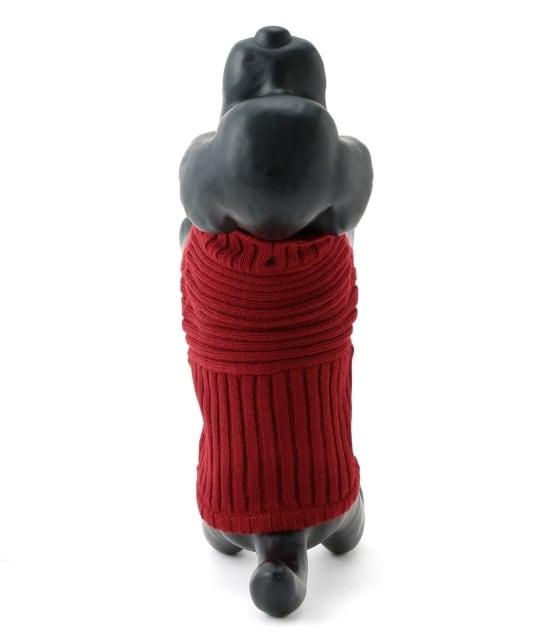 ロペピクニックパサージュ | 【DOG】リブ切り替えニットプルオーバー - 3