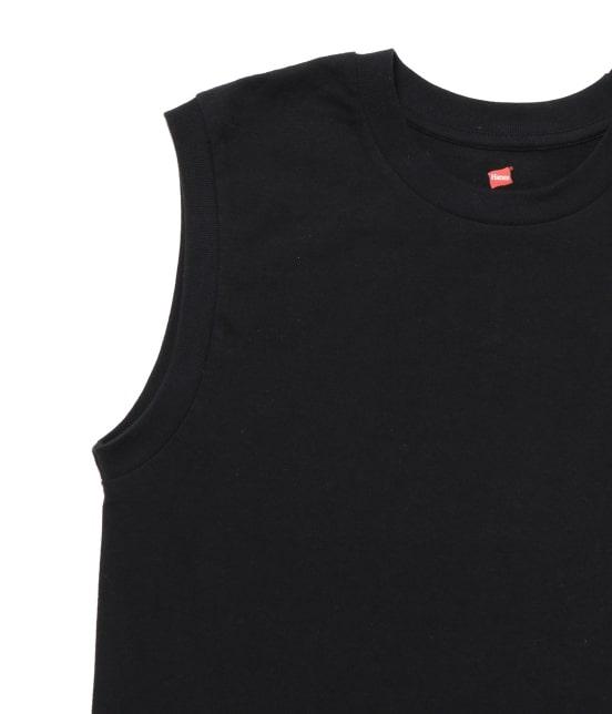 アダム エ ロペ ファム | 【Hanes FOR BIOTOP】Sleeveless T-Shirts(カラー) - 8