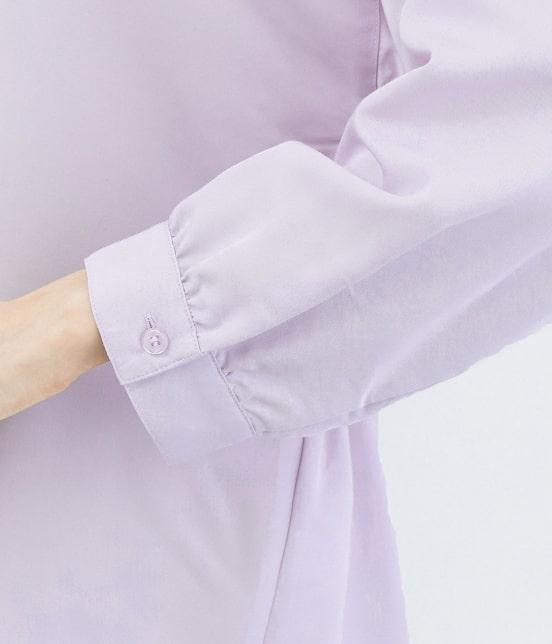 ロペピクニック | 裾スリットチュニックシャツ - 5