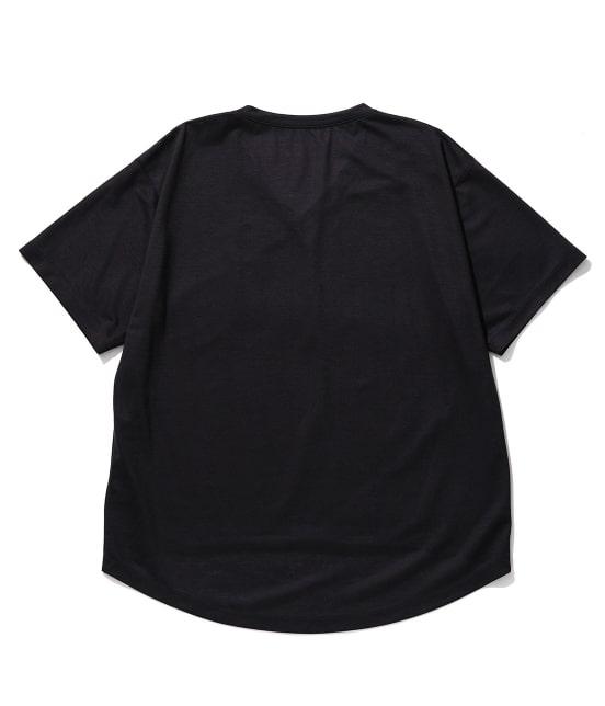 ロペ マドモアゼル   リヨセルVネックTシャツ - 5