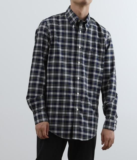アダム エ ロペ オム | Brooks Brothers SPECIAL ORDER for ADAM ET ROPE'チェック ボタンダウンシャツ Milano Fit - 10