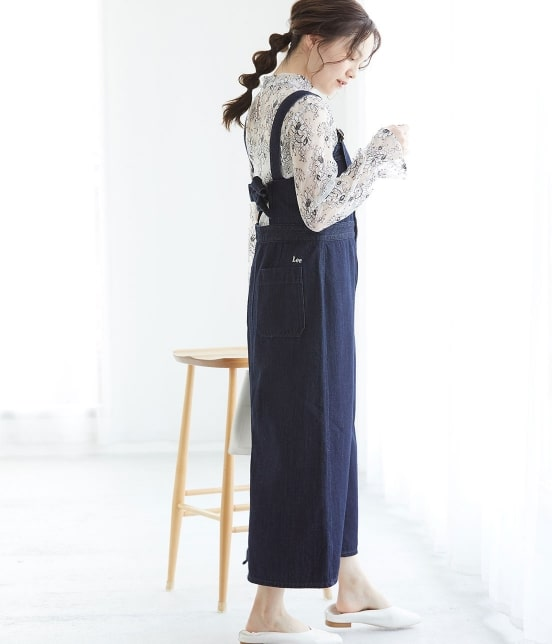 ビス   【早割】【Lee×ViS】デニムサロペットスカート - 15