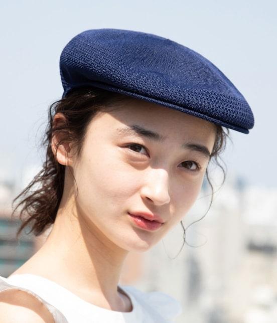 ビス   【KANGOL】メッシュハンチングベレー帽 - 11