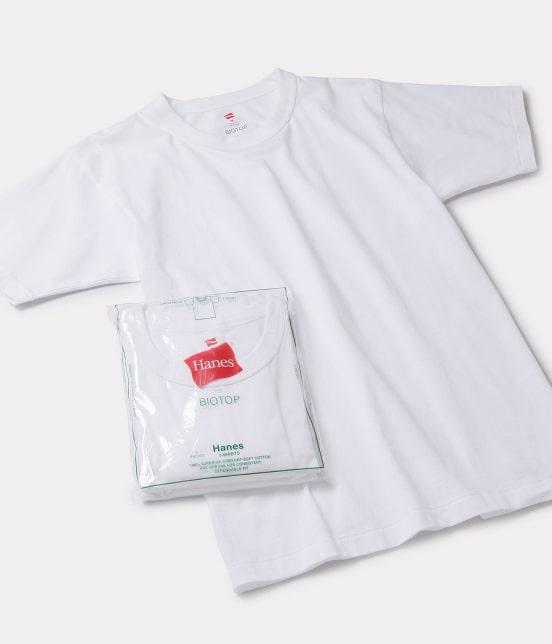 アダム エ ロペ オム | 【Hanes FOR BIOTOP】別注 2-Pack T-SHIRTS - 2
