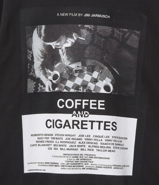 アダム エ ロペ オム | 【JIM JARMUSCH By ADAM ET ROPE'】MOVIE T-shirt - 6