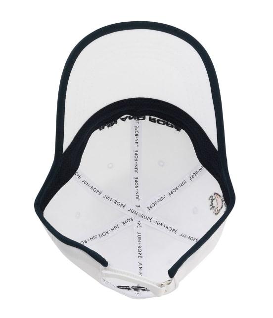 ジュン アンド ロペ | 配色コンビカクテル柄刺繍キャップ - 8