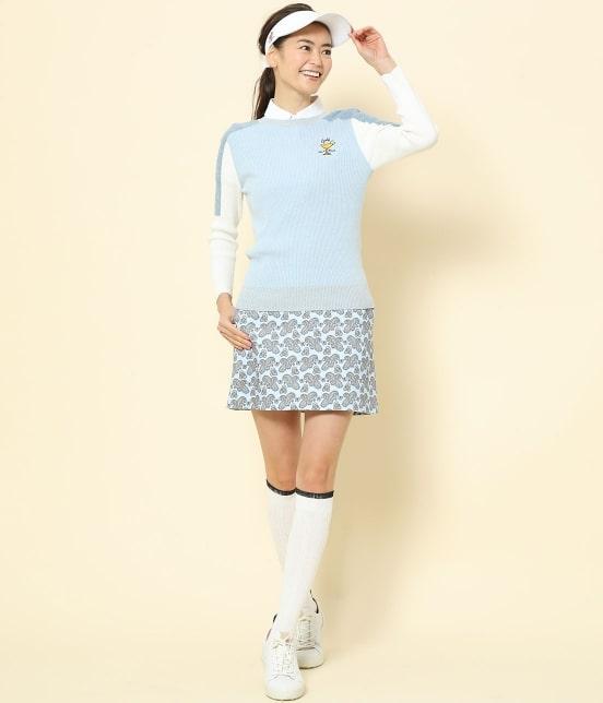 ジュン アンド ロペ   【TIME SALE】ペイズリー柄プリントAラインスカート - 7