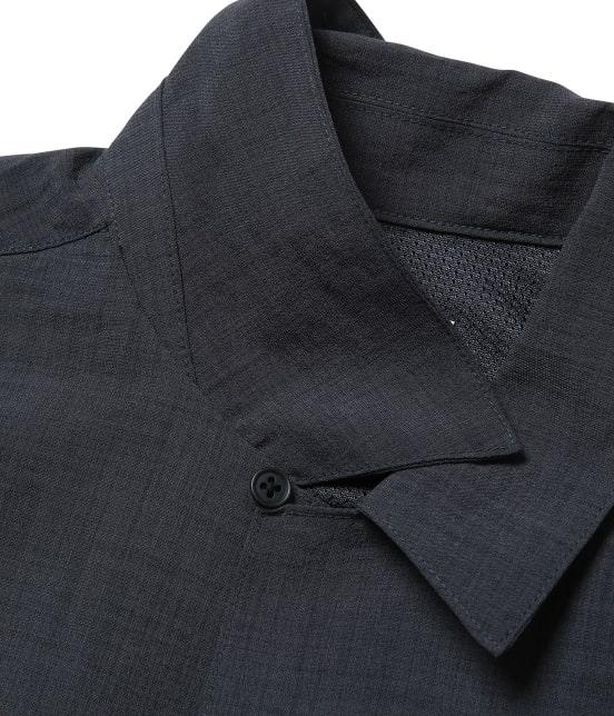 ジュンレッド   【Less:3/レスリー】ドライクロスオープンカラーシャツ - 7