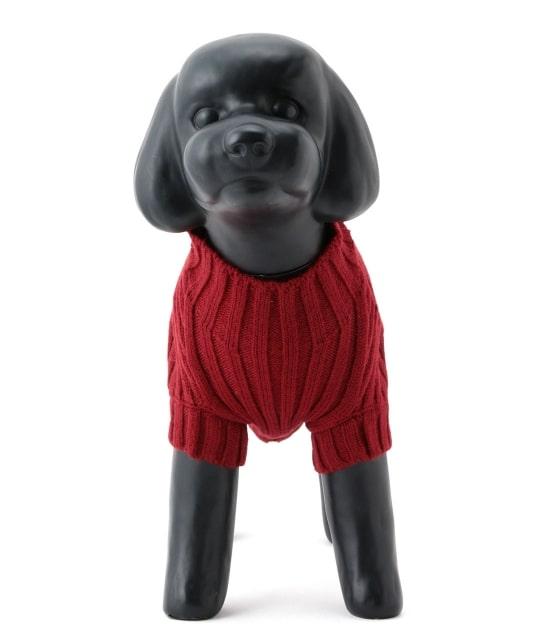 ロペピクニックパサージュ | 【DOG】リブ切り替えニットプルオーバー - 1
