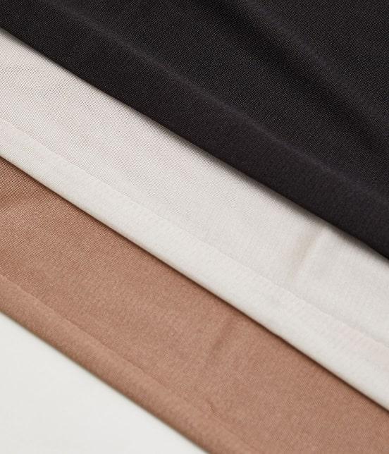 ロペピクニック | 【PRESALE】【セットアップ対応】透かし編みニットロングスカート - 7