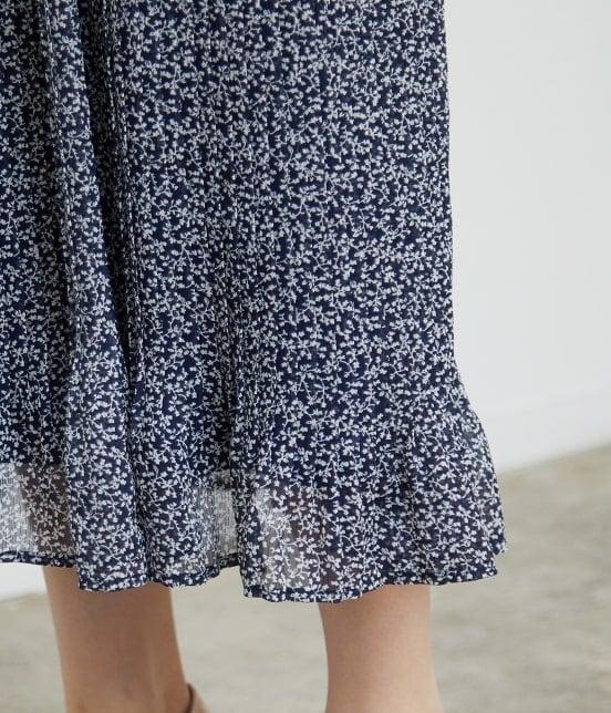 ロペピクニック   【TIME SALE・今だけ50%OFF】小花柄プリーツスカート - 5