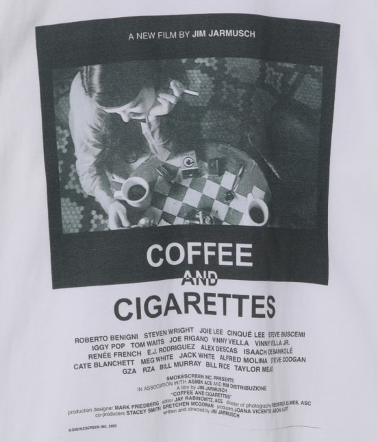 アダム エ ロペ オム | 【JIM JARMUSCH By ADAM ET ROPE'】MOVIE T-shirt - 7