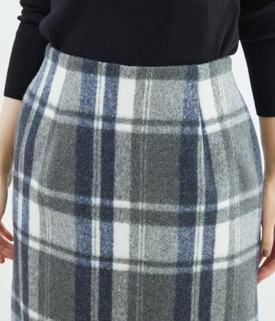ロペピクニック   【新色追加】【WEB限定:着丈が選べる】ビッグチェックアイラインスカート - 3
