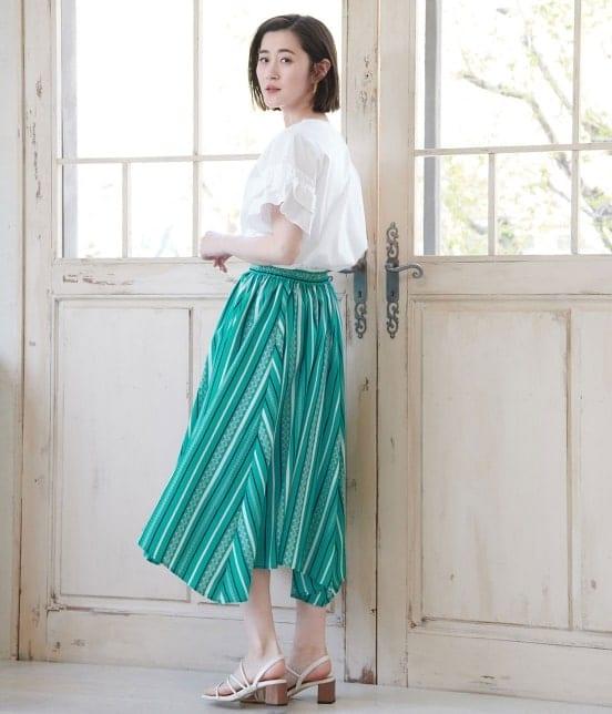 ロペピクニック | 【meiji THE Chocolate×ROPE' PICNIC】タックギャザースカート - 13