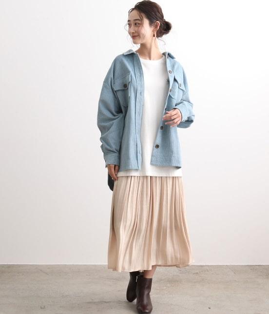 ビス | 【TIME SALE 新作10%OFF】【追加生産】シャイニースカート - 17