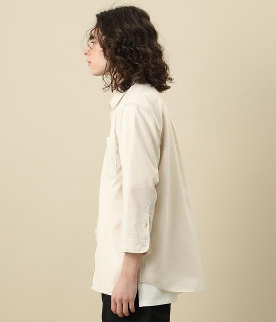 ジュンレッド | カチオン7分レギュラーカラーシャツ - 2