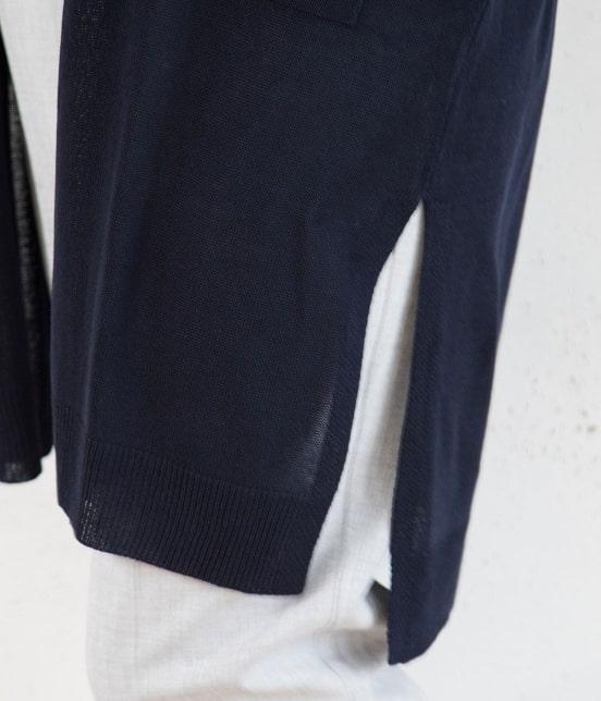 ビス   【COOL TOUCH】ポケットつきトッパーカーディガン - 7