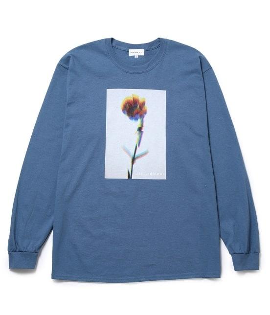 ボンジュールレコード | 【Bonjour Girl】GLITCH FLOWER/LS TEE - 4