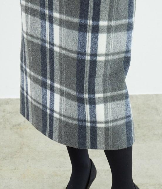 ロペピクニック   【新色追加】【WEB限定:着丈が選べる】ビッグチェックアイラインスカート - 8