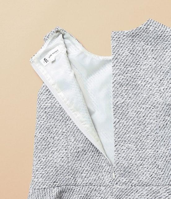 ロペピクニック キッズ | 【ROPE' PICNIC KIDS】ツイードジャケット&ジャンパースカートセット - 15