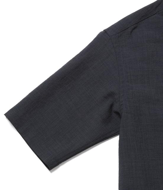 ジュンレッド   【Less:3/レスリー】ドライクロスオープンカラーシャツ - 4