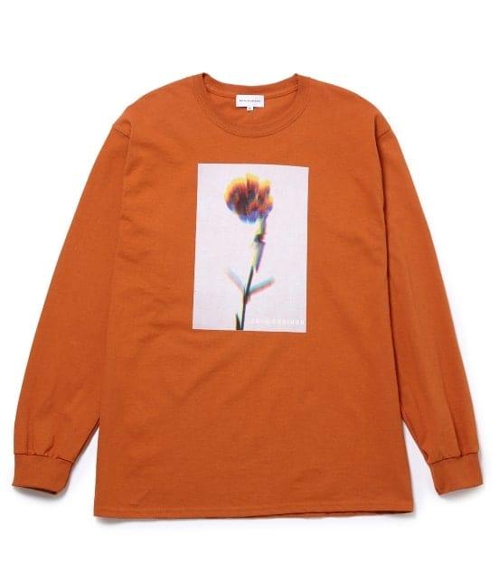 ボンジュールレコード | 【Bonjour Girl】GLITCH FLOWER/LS TEE - 3