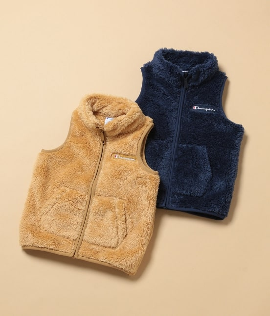 ロペピクニック キッズ | 【ROPE' PICNIC KIDS】【Champion】FLEECE VEST - 8
